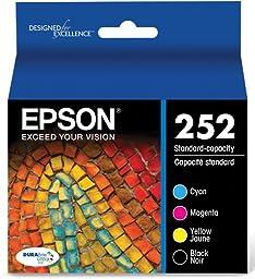 Epson T252120-BCS DURABrite Ultra Black & Color Combo Pack Standard Capacity Cartridge Ink