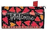 Valentine Magnetic Mailbox Cover Hearts Valentine's Day Standard Briarwood Lane