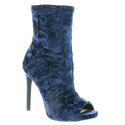 Bota De Moda Jessica Simpson Para Mujer Rainer Denim-terciopelo