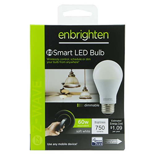 Enbrighten Z-Wave Smart LED Dimmable Light Bulb