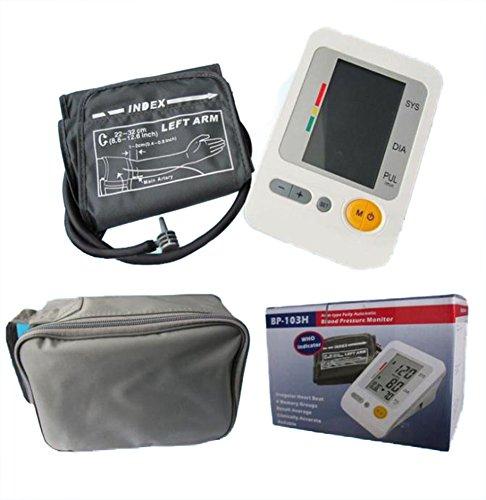 (AmaranTeen - Digital LCD Arm Type Fully Automatic Blood Pressure Monitor)