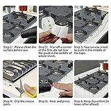 Tape Caulk Strip, Anti-Mildew Self Adhesive Sealing