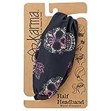 Karma Gifts Women's Half Headband, Accessory, Sugar Skull, No Size