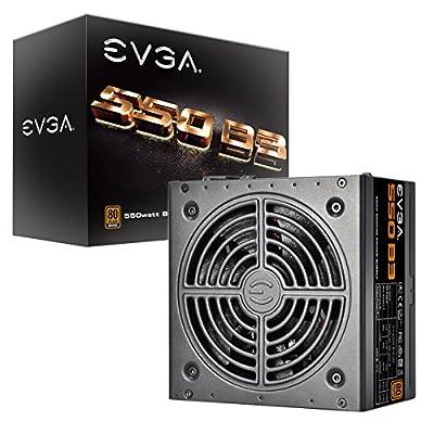 EVGA 700 B1 80+ Bronze, 700W Power Supply 100-B1-0700-K1