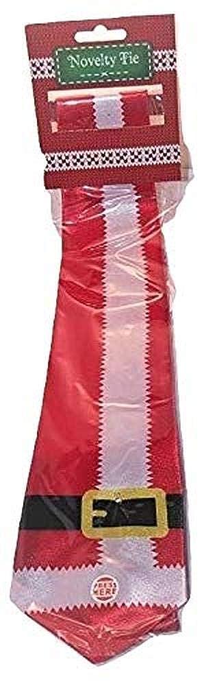 Musical Christmas Tie Father Christmas Novelty Gift Mens Secret Santa