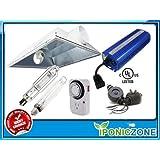 600 Watt HPS MH Box Hood Reflector Air Cool Grow Light Kit System 600 600w