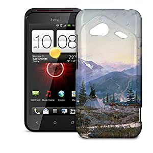 Phone Case For HTC Droid Incredible 4G LTE - Days of Peace Protective Premium