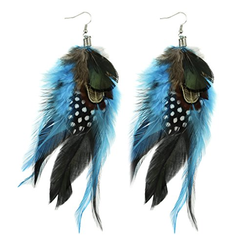 Lux Accessories Birds Of A Feather Flock Together Polka Dot Statement Earrings (Birds Of A Feather Flock Together Proverb)