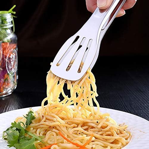 Sukisuki Küchenzange, Edelstahl Lebensmittel-Clip, Grill, Steak, Fleisch, Klammer, Küchenzubehör 28.5cm