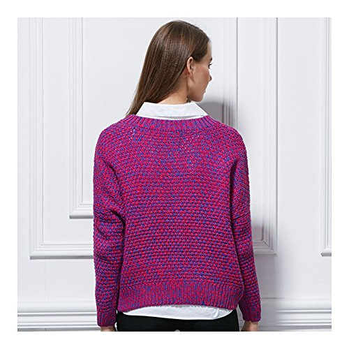 Kangzy - Gilet - Relaxed - Femme multicolore Multicoloured