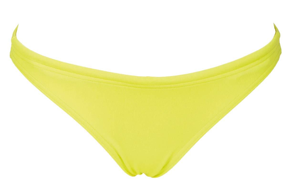 Arena Rule Breaker Real Brief MaxLife Bikini Bottom, Soft Green-Yellow Star, X-Large by Arena
