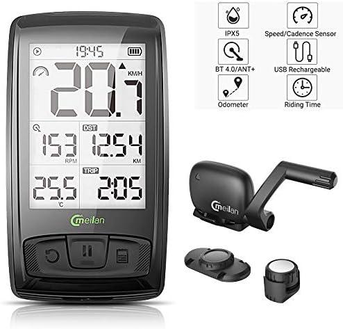 Meilan Computer Wireless Speedometer Odometer