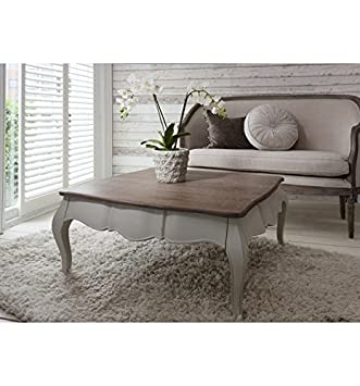 maison coffee table in stylish cool grey finish gallery furniture rh amazon co uk