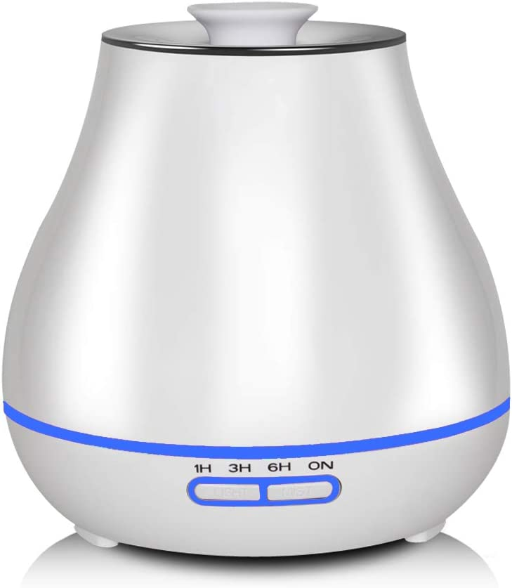 meross Smart Humidifiers for Babies, 320ML Cool Mist Humidifier Work with Amazon Alexa and Google Assistant for Bedroom, Filterless, Auto Shut Off