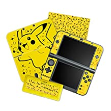 HORI Pikachu Pack Starter Kit for New Nintendo 3DS XL Officially Licensed by Nintendo and Pokemon