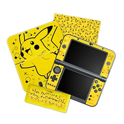 HORI Pikachu Pack Starter Kit for New Nintendo 3DS XL