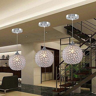 BAJIAN-LI Modern luxury Round Crystal Chandelier 1 Light 220-240v by BAJIAN-LI (Image #1)