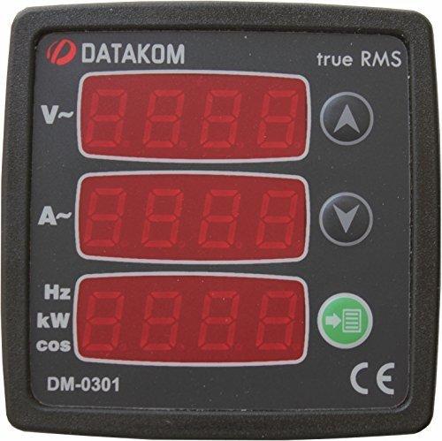 DATAKOM DM-0301 Single-Phase Sale special price Digital 170-275V Panel Under blast sales Multimeter