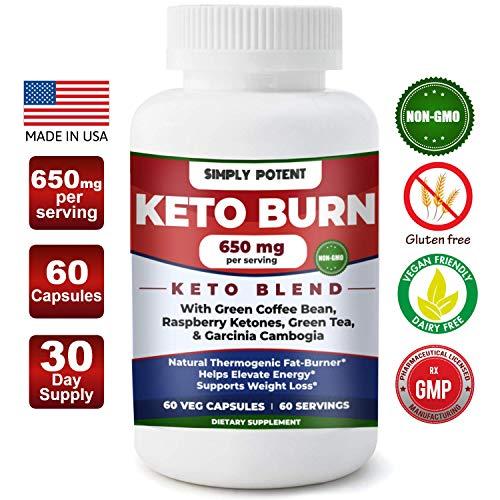 Keto Diet Pills, Weight Loss Keto Pills w/Raspberry Ketone, Garcinia Combogia, Green Tea & Coffee Supplement to Burn Fat & Lose Wt, Enhance Energy & Focus, Buy Risk Free 30 Day Full Refund Guaranteed For Sale