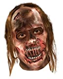 The Walking Dead TV Show, Adult Decayed Zombie Latex Mask, One Size