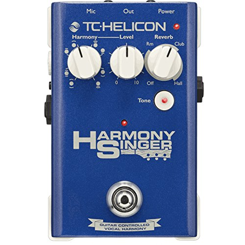 TC Helicon Harmony Singer | Vocal Harmony Tone Reverb Effects Foot Pedal ()