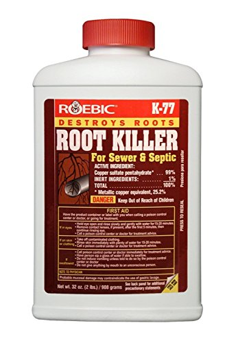 Roebic Laboratories K-77 Root Killer, -