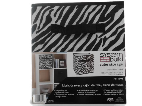 Delicieux System Build Cube Storage Fabric Drawer Zebra Pattern   Buy Online In  Kuwait. | Kitchen Products In Kuwait   See Prices, Reviews And Free  Delivery In ...
