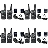 Midland LXT118VP FRS/GMRS Two Way Radios / Walkie Talkies Up to 18-Miles 22 Channels, Brand New Sealed 8 PACK