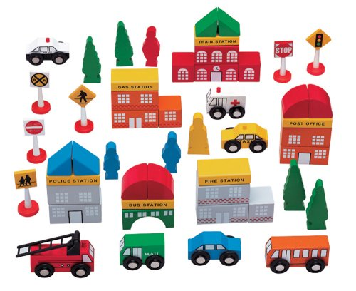 Childcraft Tumble Tree Town 27 Piece Set 264798