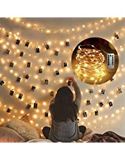 Cocoselected Fairy Lights for Bedroom,33feet 100LEDs Warm White Indoor String Lights USB Powered,Twinkle Lights for Teen Girls Bedroom Decor