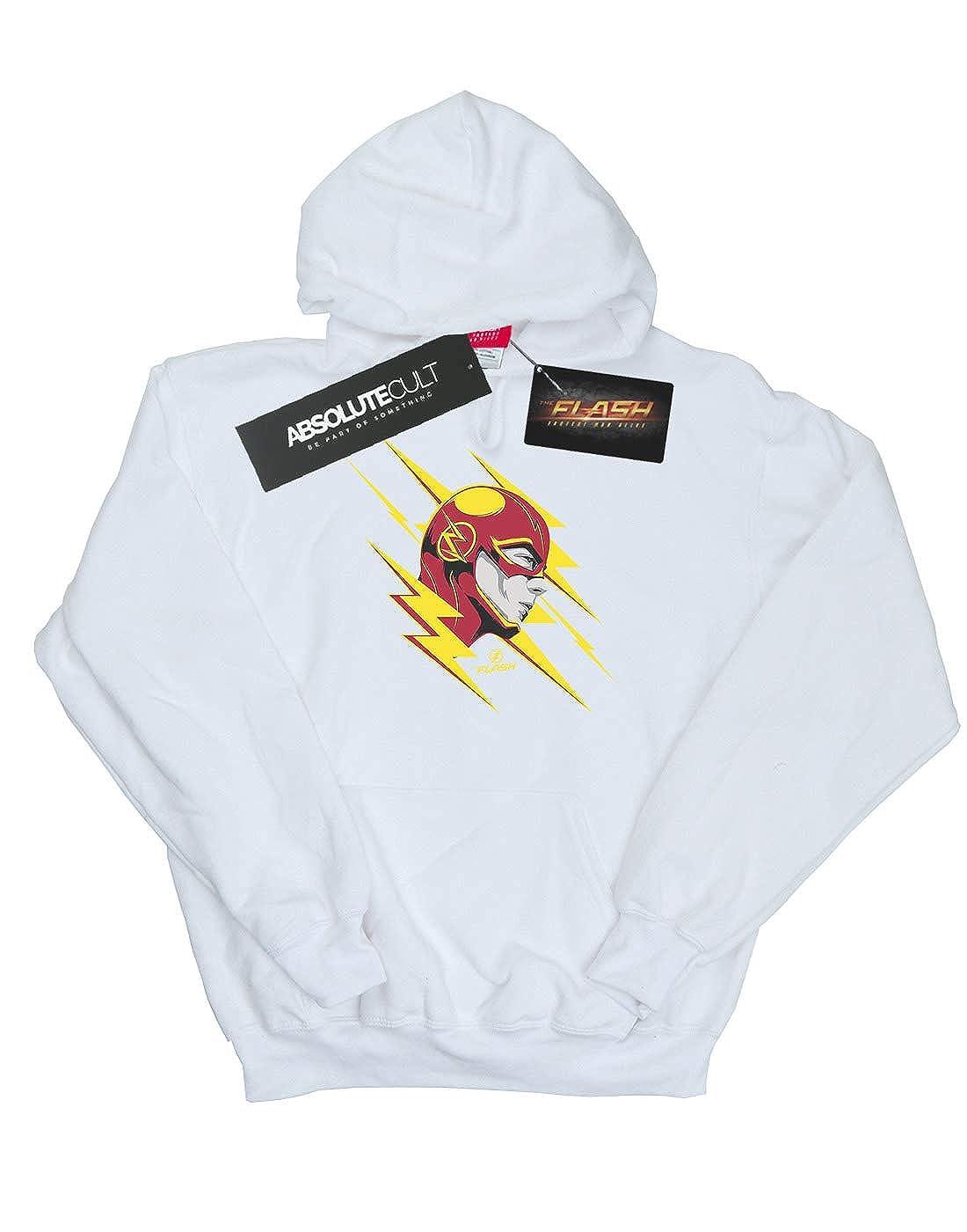 DC Comics Girls The Flash Lightning Portrait Hoodie