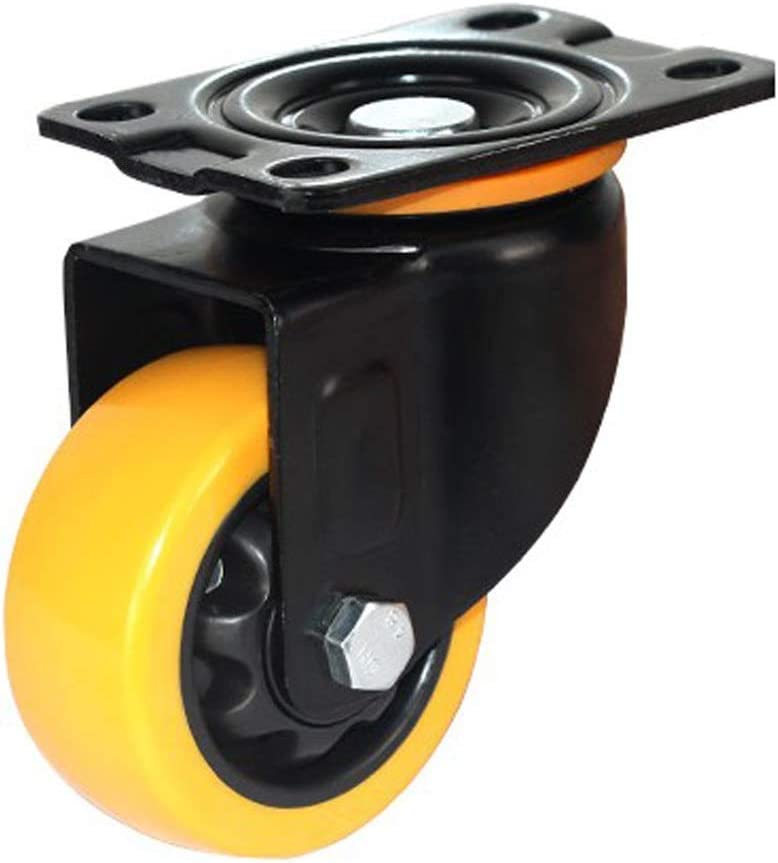 Quantity : 1 sticks a, Size : 4in 100mm Heavy Duty Shelf Universal Casters With Brake Casters 4 Sticks Casters // 4in 100mm 76mm 127mm Stem Casters 3in // 5in