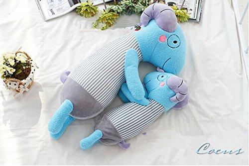 Coeus 1 Pcs Toys Cute & Lovely Bedtime Plush Animal /Huge Plush Toy Soft Doll,the Best Gift for Kids/children/girlfriend, Soft Stuffed Plush Toy -Goat,16.5 Inch / 42 Cm
