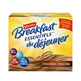 CARNATION BREAKFAST ESSENTIALS, Breakfast Drink Mix, Chocolate, 10x40g Sachets