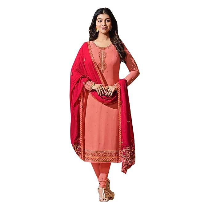 ETHNIC EMPORIUM Diseño Violeta Bollywood Salwar Kameez Traje ...
