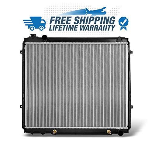 Direct Radiator - For V8 4.7L 8CYL Toyota Tundra 22-5/8