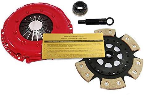 Amazon.com: EFT 6-PUCK RACE CLUTCH PRO-KIT 97-05 AUDI A4 QUATTRO B5 B6 VW PASSAT 1.8L TURBO: Automotive