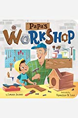 Papa's Workshop: A Lift-the-Flap Book (Clever Family Stories) Board book