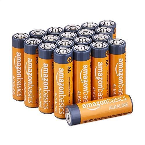 AmazonFundamentals AA 1.5 Volt Performance Alkaline Batteries - Pack of 20