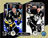 Mario Lemieux Sidney Crosby Pittsburgh Penguins NHL Legacy Photo 8x10