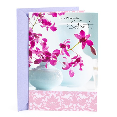 Hallmark Mother's Day Greeting Card for Aunt (Wonderful Woman)