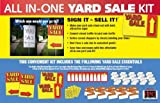 All-in-one Yard / Garage Sale Sign and Sticker Kit