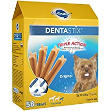 Pedigree DENTASTIX Original Toy/Small Treats for Dogs 13.97 Ounces 58 Count
