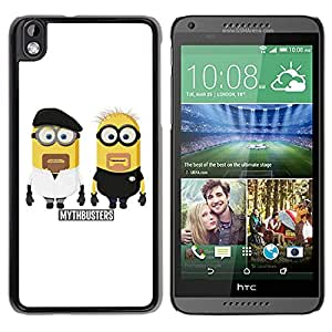 Mythbusters Minions Durable High Quality HTC Desire 816 Phone Case