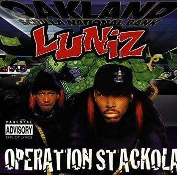 Luniz, 1uniz operation stackola stickered amazon. Com music.