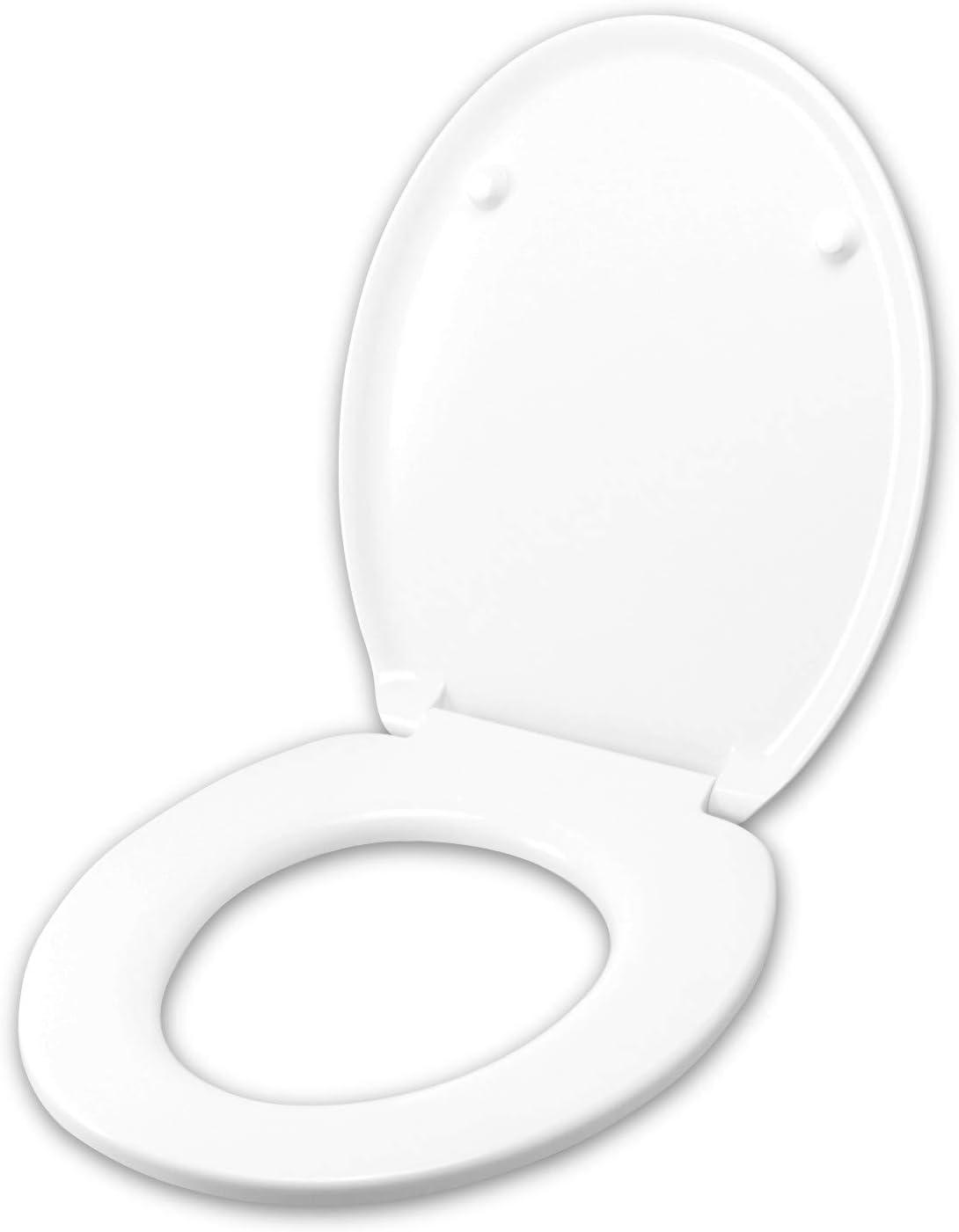 Tapa de inodoro para SIMAS ALFA TERMOINDURENTE BLANCO Bisagra Inox normal o ralentizada Soft Close