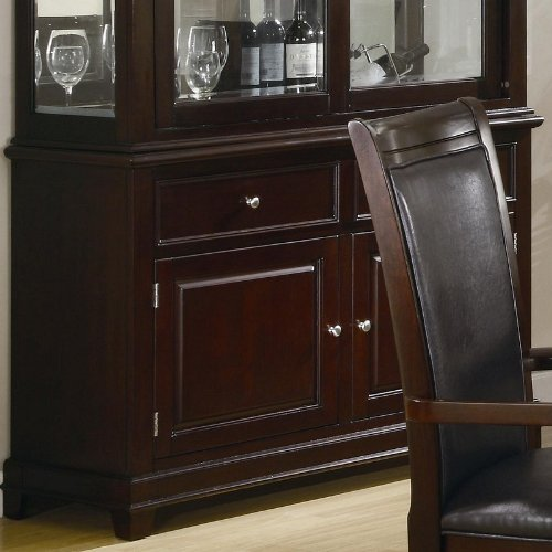 Coaster 101634 Ramona Formal Dining Room Buffet with Hutch by (Buffets For Dining Room)