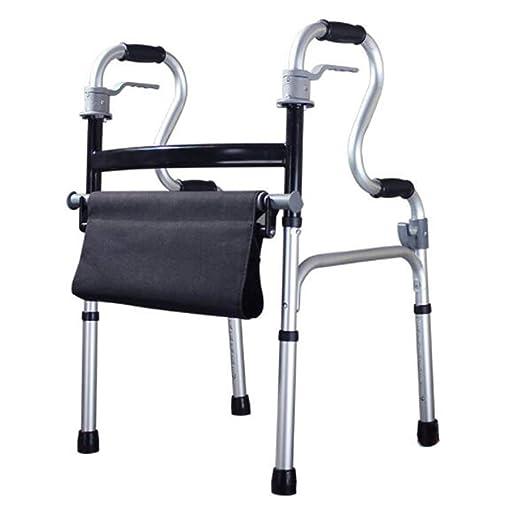ZMYLOVE Andador Plegable Compacto, Andador médico portátil de Alta ...