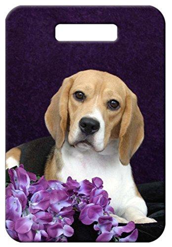 Canine Designs Set of 2 Beagle Luggage Tags Beagle Luggage Tag