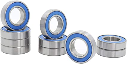 10 Ball Bearing Free Ship 6902-2RS RS 15mm Sealed